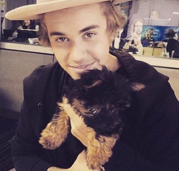 Justin Bieber se zamiloval do fenečky Esther.
