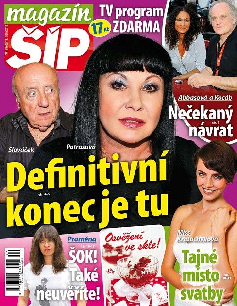 Titulní strana Magazínu Šíp 19.8.2015