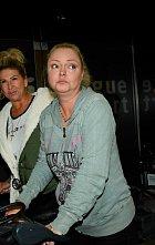 Dominika Gottová vypadala po příjezdu velmi zničeně.