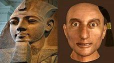 Faraon Ramses II. No na sochách je hezčí.