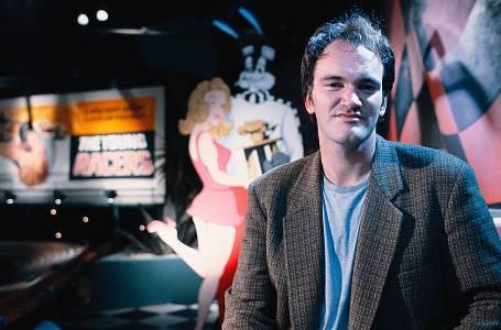 Režisér Quentin Tarantino před 25 lety