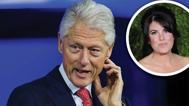 Bill Clinton a ženy... Monica Lewinská nebyla jediným jeho úlovkem mimo manželství.