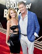 David Hasselhoff a Hayley Roberts