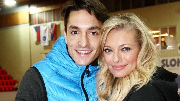 Michal Hrdlička a Lucie Borhyová