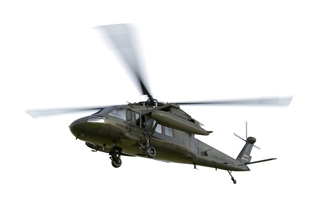 Vrtulník, ilustrační foto
