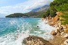 Kolem Drveniku je mnoho podobných míst. Pláž to sice není, ale klid najdete.