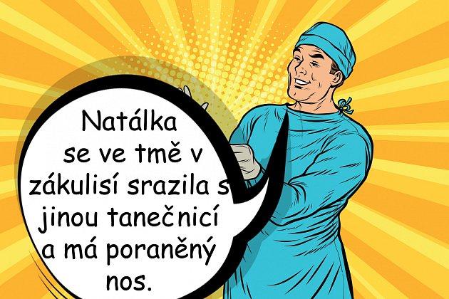 Natálie Grossová si přivodila zlomeninu, kvůli které se oni František Janeček bál.