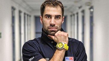 Zbyněk Irgl společně s dalšími reprezentanty nafotili kampaň na hodinky značky Invicta.