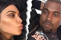 Kim a Kanye zažívají největší krizi svého manželství.