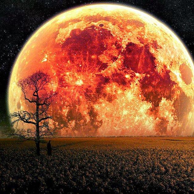 Takto nějak by Nibiru vypadala ze zemského povrchu. Krásná, nebo děsivá podívaná?