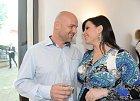 Andrea Kalivodová s přítelem