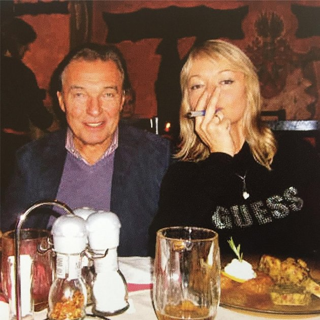 Karel Gott a Dominika Gottová