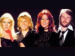 Členové legendární skupiny ABBA v době, kdy slavili největší úspěchy. Zleva Anna, Björn, Anni-Frid a Benny.