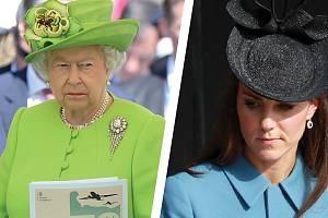 Královna si o Kate myslí své.