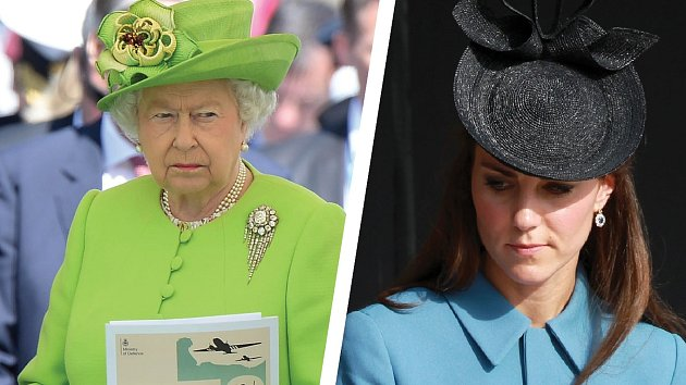 Královna si oKate myslí své.