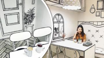 Kreslená Kavárna v Soulu