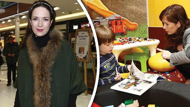 Tereza Kostková je milující máma.