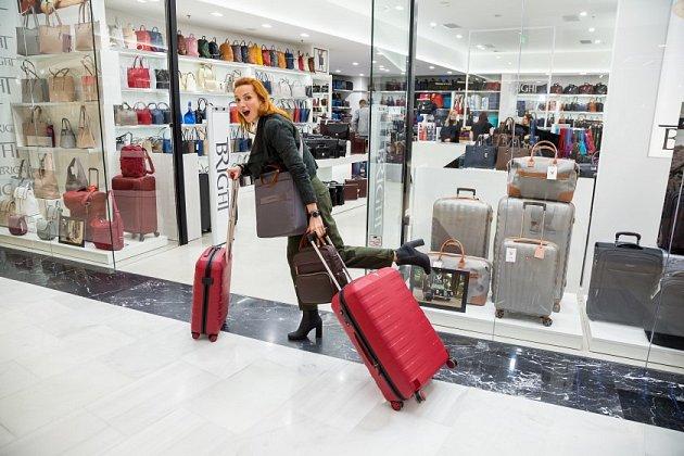 Kvalitní kufr potřebuje kvůli neustálému cestování.