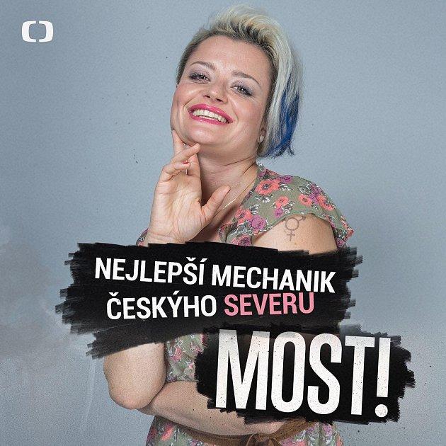 Erika Stárková alias Dáša.