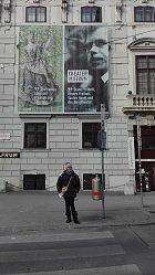 Nedávno navštívila Vídeň, kde je výstava Václava Havla.