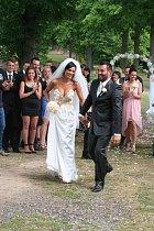 Gábina měla premiéru, Noid už svatbu zažil.