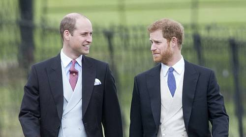 Princ William a princ Harry