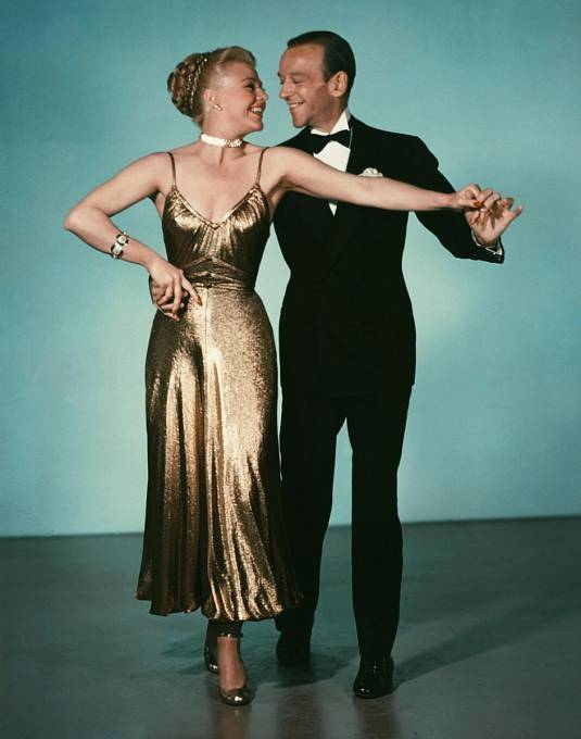 38 let: Naposledy si sAstairem zatančila vefilmu Písně zBroadwaye (1949).
