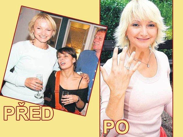 Hrudník herečky Anny Šiškové doznal od loňska očividných změn! Její milý úsměv je ale stále stejný.