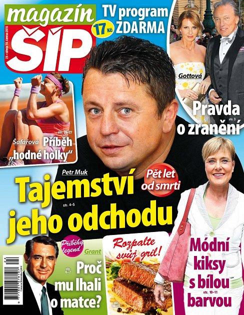 Titulní strana Magazínu Šíp 10.6.2015.