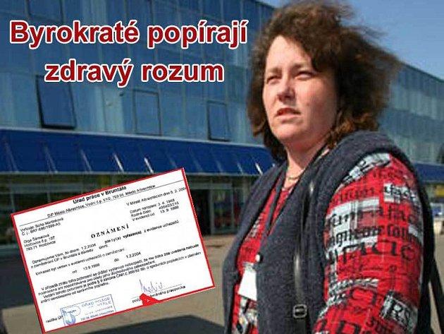 Paní Vavrisová prožívala smutek ze ztráty maminky a dopis od úředníků ji rozhodně nepovzbudil.