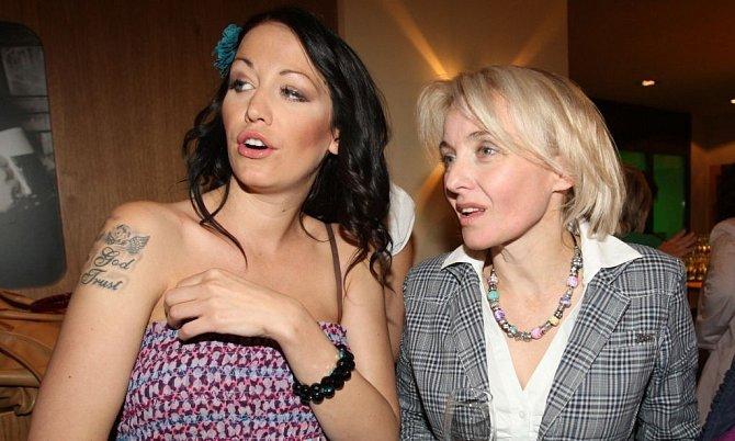 Veronika Žilková si s dcerou Agátou dobře rozumí.