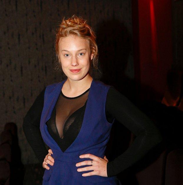 Sexy herečka Aneta Krejčíková má 'hluboké oči'.