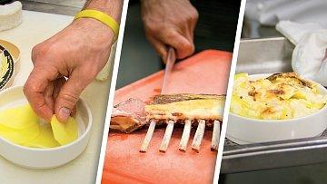 Zapečený camembert sjehněčím žebírkem