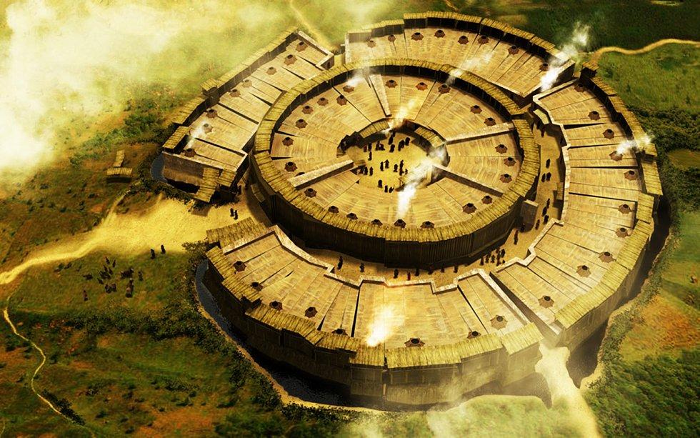 Takhle starodávné sídlo vypadalo.