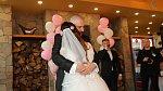 Novomanželé si svůj velký den užili.
