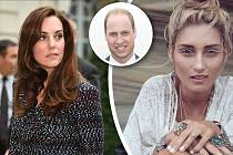 Že by se William potatil? Jeho chování k modelce se manželce vůbec nelíbilo!