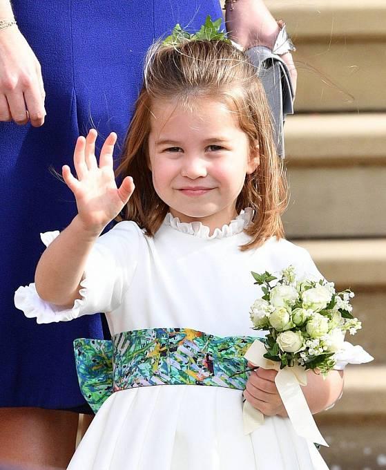 Princezna Charlotte slaví 4. narozeniny