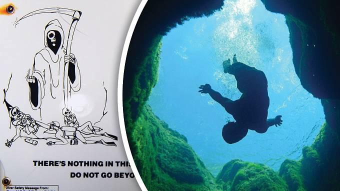 Potopit se dotajemné studny vyžaduje velkou odvahu.