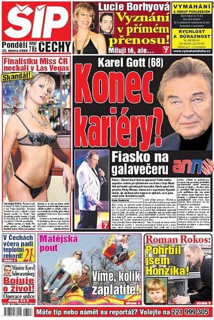 Titulka 25. 2. 2008