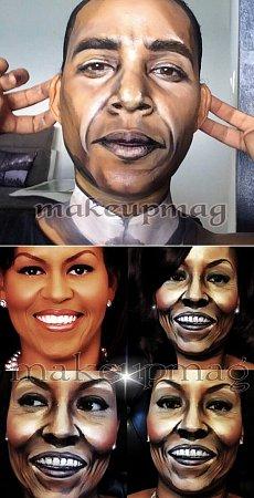 Barack Obama vženském vydání…