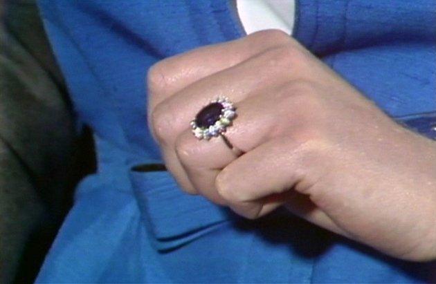 Zásnubní prsten princezny Diany