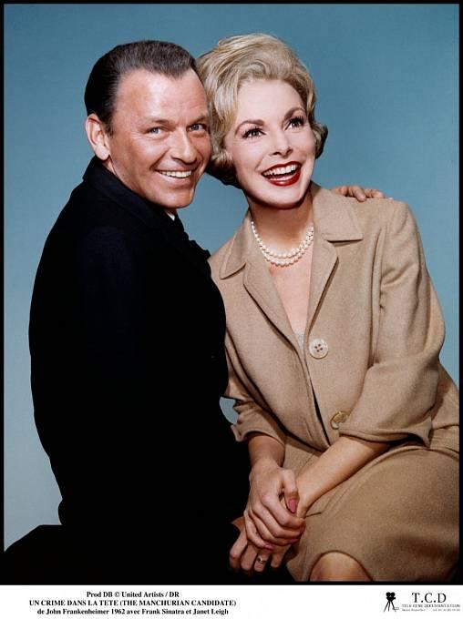 35 let: Janet aFrank Sinatra, ústřední dvojice thrilleru Mandžuský kandidát (1962)