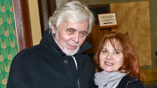 Josef Abrhám a Libuše Šafránková