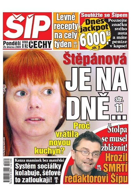 Titulka 23. 3. 2009