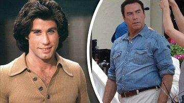 Travolta se začína nečekaně zakulacovat.