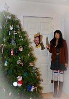 Z některých lidí udělají Vánoce hotové psychopaty. A pak to může vypadat jako ve slavném filmu...