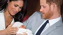 Meghan bude za chvíli maminkou dvou dětí.