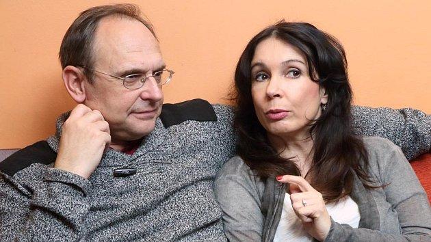 Nela Boudová a Pavel Kikinčuk