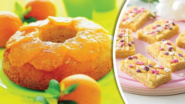 Sicilská bábovka a pomerančové sušenky