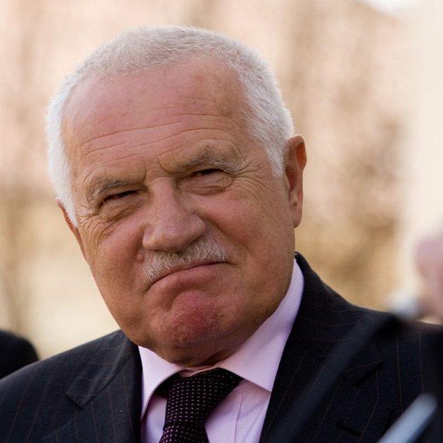 Václav Klaus se opět sešel se svou údajnou milenkou.